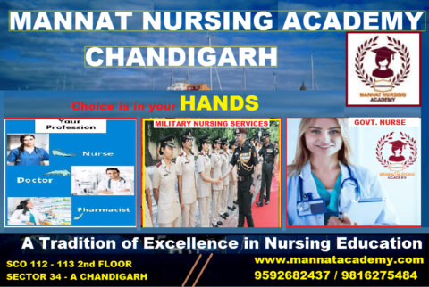 PGIMER Nursing Officer Recruitment | mannatacademy.com