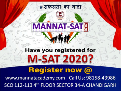 M - SAT 2020 Scholarship test