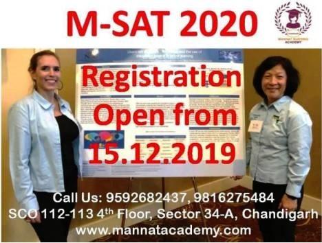 M-SAT Registration Open | mannatacademy.com