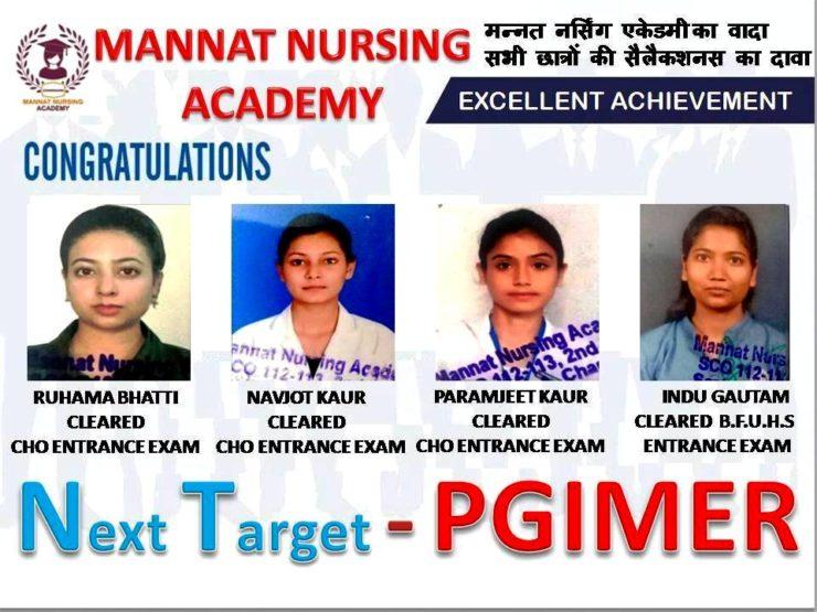 Special Target PGIMER Selection | mannatacademy.com